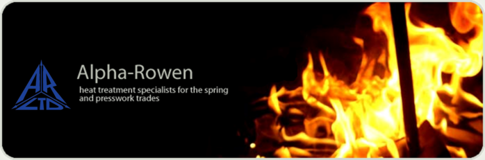 Alpha-Rowen Treatments: Heat treatment specialist for the spring and presswork trades